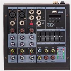 ZTX audio Compact 2.1 микшерный пульт - фото 25636