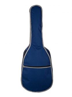 Lutner MLCG-23 — утепленный чехол для классической гитары 4/4, синий, Лютнер