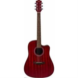 FLIGHT D-155C MAH RD акустическая гитара Флайт