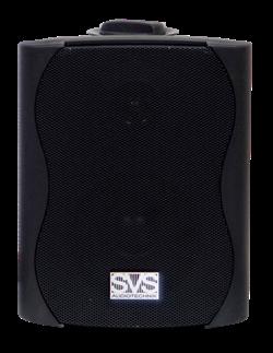 SVS Audiotechnik WS-30  Black настенный громкоговоритель для фонового озвучивания, 30Вт - фото 25869