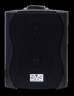 SVS Audiotechnik WS-40  Black настенный громкоговоритель для фонового озвучивания, 40Вт - фото 25872