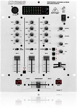 BEHRINGER DX626 dj-mixer - фото 26323