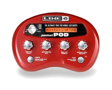 LINE 6 POCKET POD DIRECT GUITAR PREAMP цифровой процессор