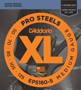 Струны для бас-гитары D'ADDARIO EPS160-5