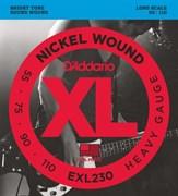 Струны для бас-гитары D'ADDARIO EXL230