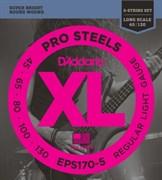 Струны для бас-гитары D'Addario EXL170-5