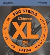 Струны для бас-гитары DAddario EPS160