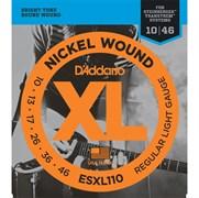 Струны для электрогитары D'ADDARIO ESXL110
