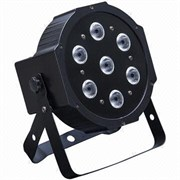 LIGHTING Par 7 4-10w black