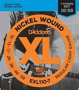 Струны для электрогитары D`Addario EXL110-7