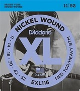 Струны для электрогитары D`Addario EXL116