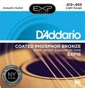 Струны металлические D'ADDARIO EXP16