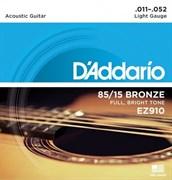 Струны металлические D'ADDARIO EZ910