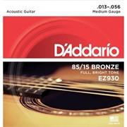 Струны металлические D'ADDARIO EZ930