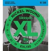 Струны для электрогитары d'addario EXL130