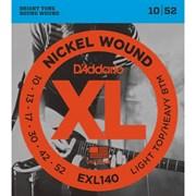 Струны D'addario EXL140, 10-52, никель/сталь