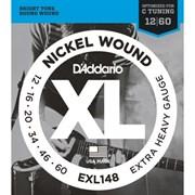 Струны для электрогитары D'ADDARIO EXL148