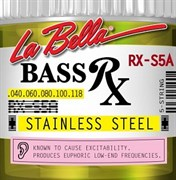 Струны для бас-гитары La bella RX-S5A RX