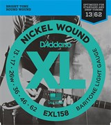 Струны для электрогитары D'ADDARIO EXL158