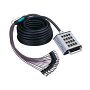 Soundking AH603-10m мультикор 12хXLR(F) входов + 4хXLR(M) выхода, 10м