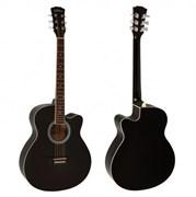 Elitaro L4010 BK акустическая гитара черная, Элитаро