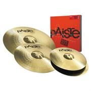 Paiste 101 Brass Universal Set комплект тарелок (14'' / 16'' / 20'')