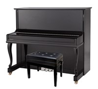 Sam Martin UP123 Black Акустическое пианино