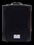 SVS Audiotechnik WS-20 Black настенный громкоговоритель для фонового озвучивания, 20Вт