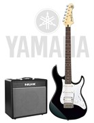 Yamaha Pacifica-012BL + NUX Mighty 40BT — комплект электрогитара и комбоусилитель 40 Вт, Ямаха