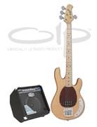 OLP MM2F + Cort GE30B-EU — комплект бас-гитара и комбоусилитель 35 Вт