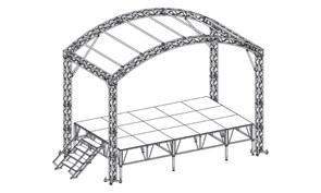 Арочный сценический комплекс 6 х 3,6 м.