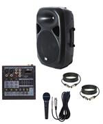 Комплект караоке с проводным микрофоном