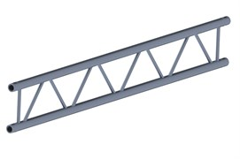 INVOLIGHT IFX29-100 - ферма плоская, прямая, 1 м, 290 мм, труба 50 мм