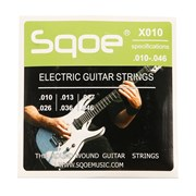 SQOE X010 — струны для электрогитары 10-46, СКВОЕ