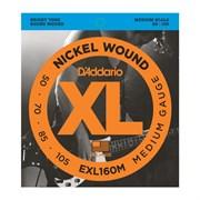 Струны для бас-гитары D'Addario EXL160M