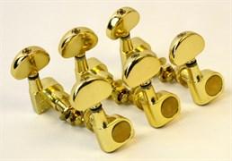 AD-016JP Комплект 3+3 колковой механики, золото, Alice