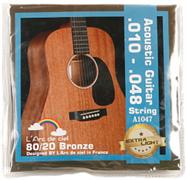L'espoir A1047 струны для акустической гитары 10-48