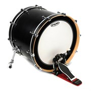 """Evans BD22EMADCW EMAD Coated White - Пластик для бас-барабана 22"""""""