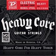 Dunlop DHCN1048 Heavy Core Комплект струн для электрогитары, никелированные, 10-48