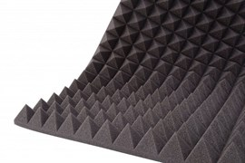 Акустический поролон Пирамида 20 мм (200 см х 100 см х 3 см)