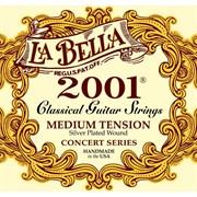 LA BELLA 2001M — КОМПЛЕКТ СТРУН НЕЙЛОНОВЫХ ДЛЯ КЛАССИЧЕСКОЙ ГИТАРЫ